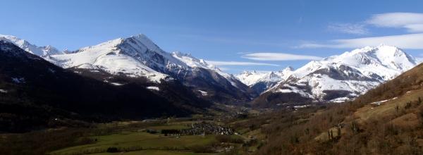 Panorama Val d'Azun